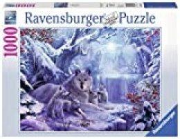 Winterwölfe. Puzzle 1000 Teile
