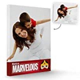 Fotoprix Lienzo Personalizado con Foto para Mamá | Regalo Original día de la madre | Varios diseños y tamaños (Madre 6, 30 x 40 cms)
