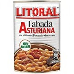 LITORAL Fabada Asturiana Plato Preparado de Fabada Asturiana Sin Gluten - 435 gr