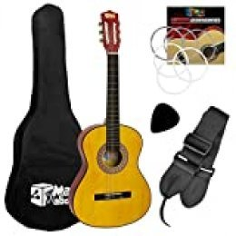 Mad About CLG1-34-PACK Set de Guitarra para Niños
