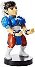 Exquisite Gaming - Cable guy Chun Li, soporte de sujeción y carga para mando de consola y/o smartphone de tu personaje favorito con licencia de Street Fighter, Producto con licencia oficial