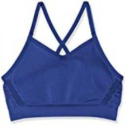 Nike Dri-FIT Sports Bra G Sujetador Deportivo, Niñas, Azul (Blue Void/White), XS (122-128 CM)