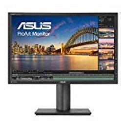 "Asus ProArt PA248Q - Monitor profesional de 24.1"" Full HD  (1920x1080 pixeles, Panel A+ IPS, precisión de color △E< 5 (calibrado de fábrica), 100 % sRGB, 4 puertos USB 3.0, DisplayPort, HDMI, Joystick de navegación, regulación en"