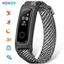 HONOR Sport smartwatch Pulsera de Actividad Inteligente Reloj Impermeable IP68, Monitor de Sueño, Podómetro Fitness Tracker Gris (Versión Global)