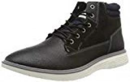 Jack & Jones Jfwduston PU Combo Anthracite, Botas Chukka para Hombre