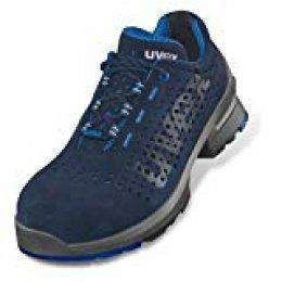 Uvex 1 Calzado de Seguridad Laboral - Sneaker Perforado S1 SRC ESD - Puntera de plástico