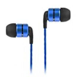 SoundMAGIC E80 Auriculares intrauditivos de Alta fidelidad Auriculares para teléfonos Inteligentes Auriculares Aislamiento acústico - Azul