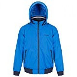 Regatta Maxfield Waterproof and Breathable Hooded Outdoor Bomber Style Chaqueta, Hombre