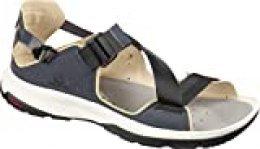 SALOMON Shoes Tech Sandal, Sandalias Unisex Adulto, Multicolor (India Ink/Black/Taos Taupe), 40 EU