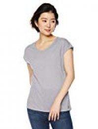 SALOMON Comet tee Camiseta, Mujer, Gris (Lilac Gray), S