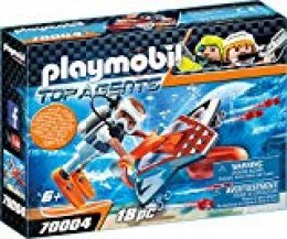 Playmobil Top Agents Spy Team Underwater Wing - Sets de Juguetes (Acción / Aventura, 6 año(s), Niño, Interior,, Gente)