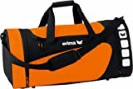 Erima GmbH 723363 Bolsa de Deporte, Hombre, Naranja/Negro, S