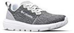 Columbia Backpedal Outdry, Zapatillas de Cross para Mujer, Gris (Steam, White), 41.5 EU