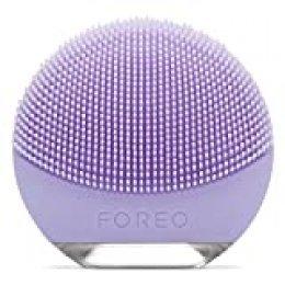 FOREO LUNA go Dispositivo de Limpieza Facial, para Piel Sensible, Lilas