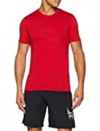 NIKE CLTR Air Camiseta, Hombre, Gym Red (White), Large