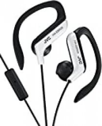 JVC HA-EBR25-W-E - Auriculares de Clip (Controlador de Llamada) Color Blanco