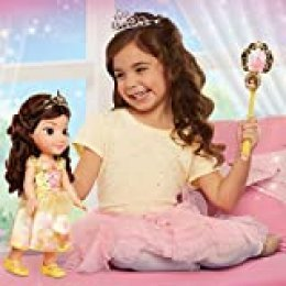 Disney Princess- Belle Toddler Doll and Accessories Muñeco, (Jakks Pacific 84307)