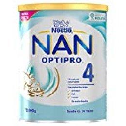 NAN OPTIPRO 4 - Preparado lácteo infantil - Fórmula de crecimiento en polvo - A partir de los 24 meses - 800g