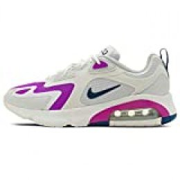 Nike Air MAX 217, Zapatillas de Gimnasio para Mujer, Multicolore Photon Dust White Vivid Purple Valerian Blue, 38.5 EU