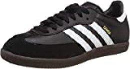 Adidas Samba, Zapatillas de Fútbol para Hombre, Negro Black Running White, 42 EU