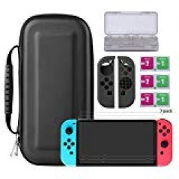 Bestico Kit Protección para Nintendo Switch, Funda Switch AccesoriosBestico Kit Protección para Nintendo Switch, Funda Switch Accesorios de Protección