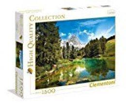 Clementoni - Puzzle 1500 Piezas el Lago Azul (31680)