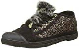 Le Temps des Cerises Basic 02, Zapatillas para Mujer, Multicolor Glitter Bronze, 39 EU