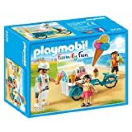PLAYMOBIL- Carrito de Helados Juguete, Multicolor (geobra Brandstätter 9426)