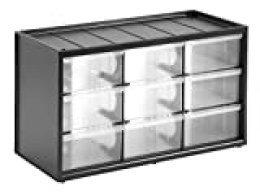 STANLEY 1-93-978 - Caja de Almacenamiento para Piezas pequeñas con 9 cajones