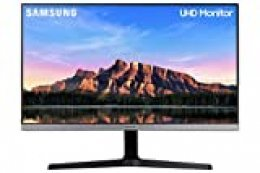 "Samsung U28R552 - Monitor de 28"" sin marcos (4K, 4 ms, 60 Hz, HDR10, FreeSync, LED, IPS, 16:9, 1000:1, 300 cd/m², 178°, HDMI 2.0, Base en V) Gris Oscuro"