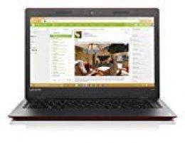 "Lenovo 100S-14IBR - Ordenador portátil 14"" HD (Intel Celeron N3060, 4GB RAM, 128GB SSD, Windows 10 Home) Rojo - Teclado QWERTY Español"