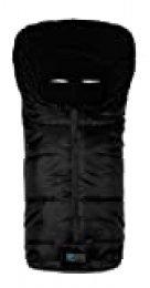 AltaBeBe Basic - Saco de abrigo para silla de paseo, color negro