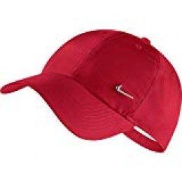 Nike Heritage 86 Metal Swoosh - Gorra para Hombre, Talla única, Color Rojo