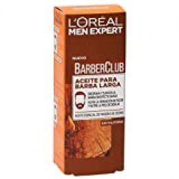 L'Oréal Paris Men Expert - Barber Club Aceite hidratante para barba larga y rostro - 30 ml