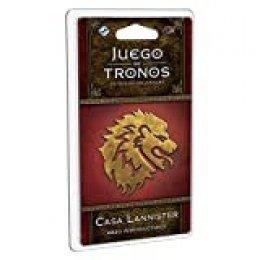 Edge Entertainment- Juego de Tronos LCG: Mazo introductorio de la Casa Lannister - Español, Multicolor (GT38ES)