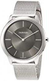 Calvin Klein Reloj Analógico de Cuarzo para Hombre con Correa de Acero Inoxidable – K3M21124