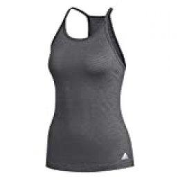 adidas Performance Tank W Camiseta sin Mangas, Mujer, Negro (Black Melange), XS