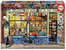 Educa Borrás-Puzzle de 5000 Piezas La Mejor Librería del Mundo (18583)
