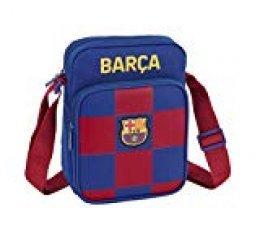 safta Bandolera de FC Barcelona 1ª Equip. 19/20 Oficial con Bolsillo Exterior