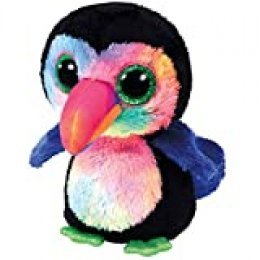 Ty Toucan Beanie Boo's Beaks, tucán, Multicolor, 15 cm (United Labels Ibérica 36870TY)
