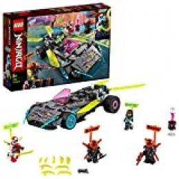 LEGO Ninjago - Coche Ninja Tuneado, Juguete de Construcción de Vehículo Ninja para Recrear Aventuras de la Serie, Incluye Minifiguras de Digi Kai y Scott, entre Otros (71710)
