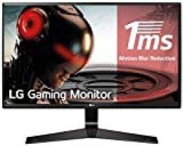 "LG 27MP59G-P - Monitor Gaming FHD de 68, 6 cm (27"") con Panel IPS (1920 x 1080 píxeles,  16:9,  1 ms con MBR,  75Hz,  250 cd/m²,  1000:1,  sRGB >99%, D-SUB x1, HDMI x1, DP x1) Color Negro"