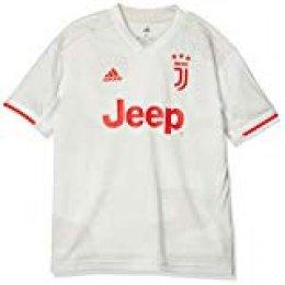 adidas Juventus Away J Kids Jersey para Niños, Blanco (Core White/Raw White), 1314Y