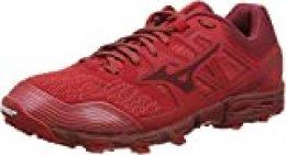 Mizuno Wave Hayate 6, Zapatillas de Running para Asfalto para Hombre, Rojo (Cred/Biking Red 56), 40 EU