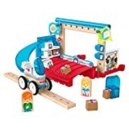 Fisher-Price Wonder Makers Centro de envíos, juguetes construcción niños + 3 años (Mattel GFJ14)