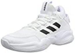 adidas STREETCHECK, Zapatillas de básquetbol para Hombre, FTWR White Core Black Grey Two F17, 43 1/3 EU