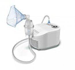 OMRON X101 Nebulizador Easy con mascarilla para tratar tos, resfriados, alergias o asma en niños y adultos