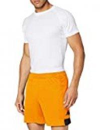 Kappa PAGGO Pantalón Corto de equipación, Hombre, Naranja/Negro, XL