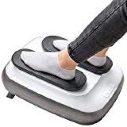GRIDINLUX. Ejercitador de piernas eléctrico. Gimnasia pasiva. Con mando y altura regulable. Pantalla táctil. Tamaño reducido, fácil de usar.