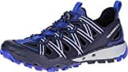 Merrell Choprock Shandal, Zapatillas Impermeables para Hombre, Azul (Navy), 41 EU